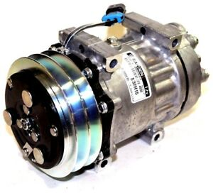 NEW GENUINE SANDEN AC COMPRESSOR FOR VOLVO 85119564 AND MACK PART# 75R84382