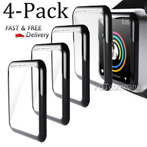 For Apple Watch Series 4321 Tempered Glass 4D Full Screen Protector 4044mm