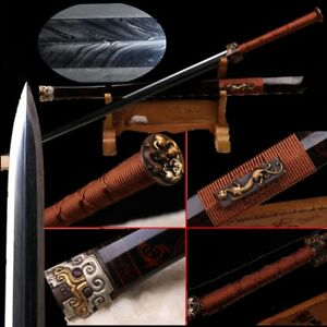 Highest grade Sword Multiple-refined Rotary forging Feather grain steel #3685