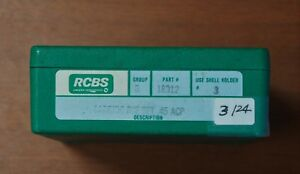 RCBS 45 ACP-(18912)-Carbide 3-Die Set -NOS-older