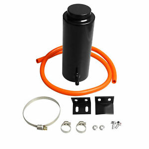 800ml Black Universal Radiator Coolant Aluminum Catch Tank Overflow Reservoir