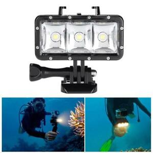 Diving Waterproof Underwater 40m130ft LED Video Flash Light Accessory For Gopro
