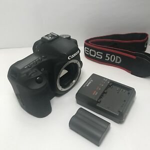 Canon EOS 50D 15.1MP Digital SLR Camera Body Only