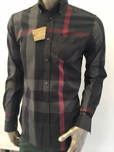nwt BURBERRY London MEN`S CASUAL Shirt