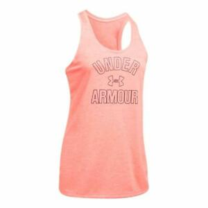 Under Armour Womens Heathered Loose Tank Top - Choose SZColor