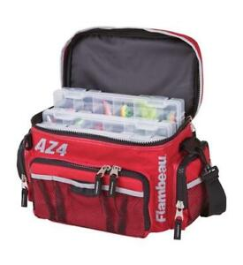 Flambeau Soft Tackle Box Bag System Top Load AZ4 w Containers Fishing 6106TB