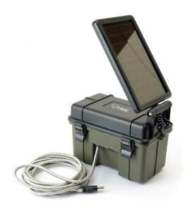 HME Game Camera Solar Panel Auxiliary Power Pack 12 Volt 12V 12VBBSOL