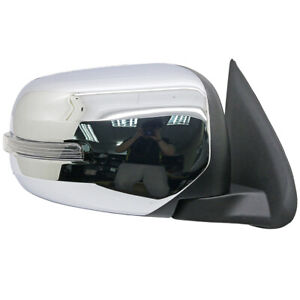 NEW Chrome Right Electric Side Mirror w LED For Mitsubishi Triton L200 2015 18 $160.00