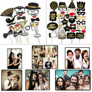 Photo Booth Party Props Selfie Photography for Wedding Birthday Christmas Party