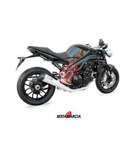 COMPLETE EXHAUST ZARD TITANIUM CONICAL APPROVED TRIUMPH SPEED TRIPLE 1050 07 10