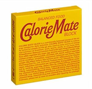 Otsuka Calorie Mate Chocolate 4 × 10 Energy Diet Food  JAPAN Import Tracking FS