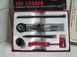 LEE LOADER .225 WIN Excellent condition