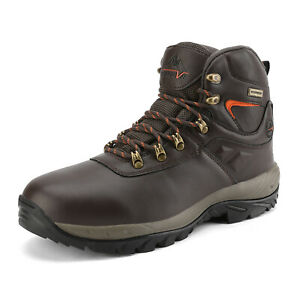 NORTIV 8 Men#x27;s Waterproof Hiking Boots Mid Outdoor Backpacking Lightweight Shoes