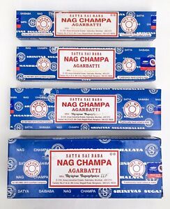 Satya Nag Champa Incense Sticks Blue Box Pick 15 40 100 250 gms Fresh Stock