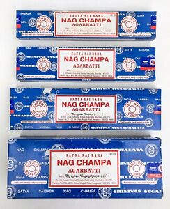 Satya Nag Champa Incense Sticks Blue Box Pick 10 15 40 100 250 - Free Shipping!!
