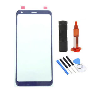 US Front Outer Glass Screen Lens Replacement For LG Q7 Q7+ Plus Q610 WOCA Tool
