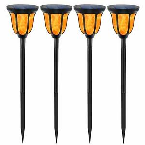 High Quallty Waterproof Solar Torches Lights Dancing Flame Outdoor Decoration