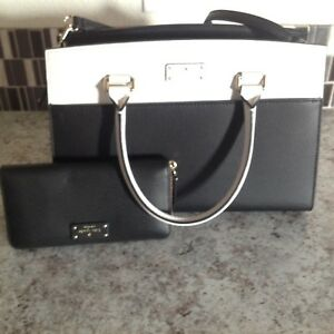 Kate Spade New York Grove Street Caley Leather Cross Body WKRU4257 Black