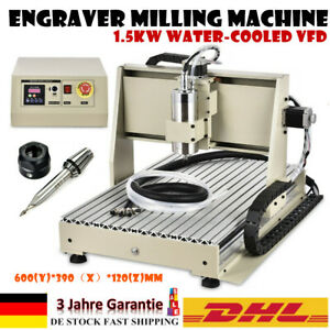 USB 3 Axis 6040 1500W Spindle Router Engraver Drilling Machine Cutter 220V DHL