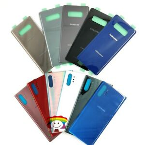 OEM Battery Glass Back Door Cover Parts For Samsung Galaxy Note 5 Note 8 Note 9