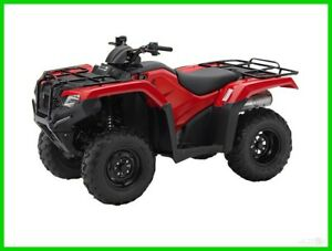 2018 Honda FourTrax Rancher 4X4 Automatic DCT EPS New