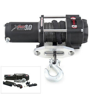 New Smittybilt XRC3 3000lbs Comp Winch with Synthetic Rope & Self Locking Brake