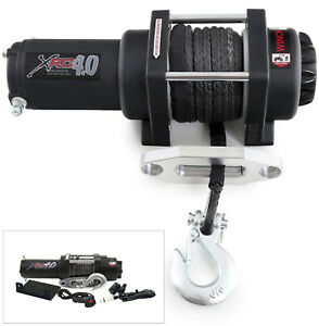New Smittybilt XRC4 4000lbs Comp Winch with Synthetic Rope & Self Locking Brake