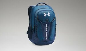 New Under Armour Storm Contender Backpack - Techno Teal  Academy Blue  White