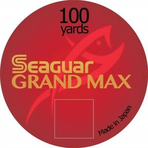 SeaGuar Grand Max 30yds 100yds Fluorocarbon for Fly Fishing and Carp Fishing