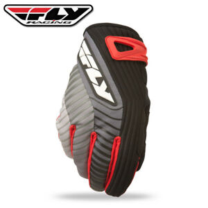 Fly Racing Title Short Cold Weather Gloves BlackRed (Closeout)
