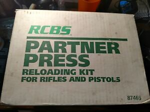 RCBS PARTNER PRESS RELOADING KIT - New Old Stock