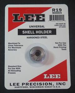 LEE Universal Shell Holder #19-(90004) NIP
