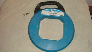 Ideal Ind.~Tuff-Grip Steel Fish Tape #31-056~100ft x 18in~Good Working Cond~USA