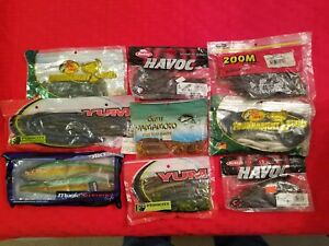 Fishing Lures Fishing Bait Bass Lures Fishing Tackle Lot of 39 Miscellaneous