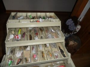 PLANO TACKLE BOX FULL