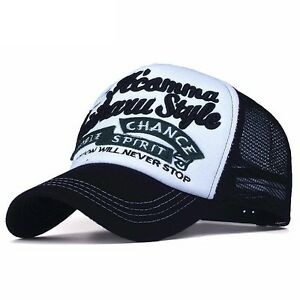 Casual Men Baseball Cap Snapback Hat Casquette Gorras Letter Embroidery Summer
