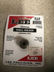 Lee Universal Shellholder # R19 (9mm Luger  40 S&W  10mm Auto)  # 90004 New