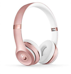 Beats by Dr. Dre Solo3 Wireless On-Ear Headphones - Rose Gold NEW