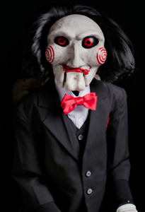 Halloween Trick Or Treat Studios SAW Billy Static Puppet Prop Haunted House NEW