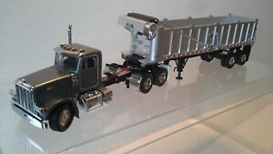 Peterbilt 357 with EAST DUMP Trailer by SWORD MODELS  1:50 scale