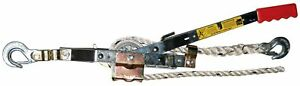 Maasdam Pow'R Pull A-50 3/4 Ton Capacitty Rope Puller with 50' of 1/2