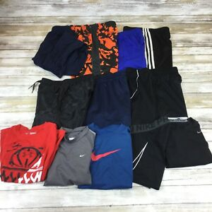 NIKE ADIDAS UNDER ARMOUR ~BOY YOUTH SMALL ~ FITNESS SPORTS SHORTS PANTS SHIRTS