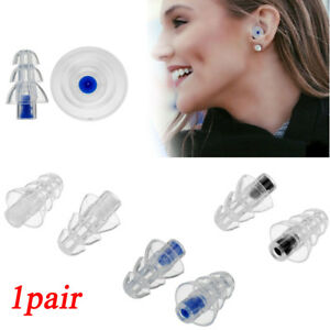 Earplugs Silicone earphone Hearing Protection Earbud Noise Reduction Filter