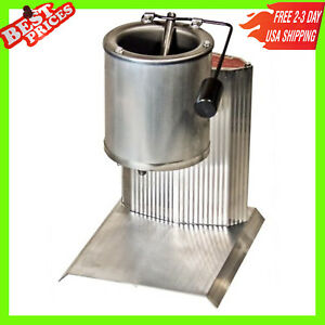 Electric Lead Melting Pot Metal Melter Furnace Casting Molds Spout 20 Pound Grey