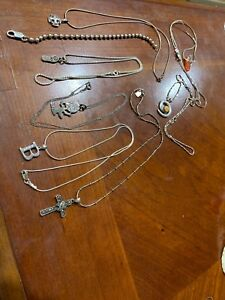 925 sterling silver pendant chain Lot