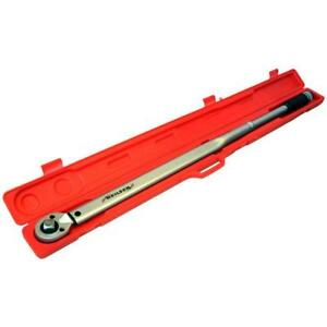 34 inch Drive Torque Wrench  Long Arm 140 - 980Nm  For Trucks Lorry Tractor JCB