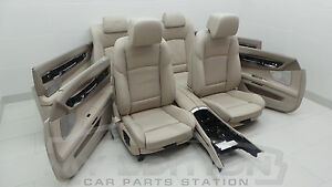 BMW F01 F02 Leather Trim Leather Seats Leather Dekota Interior Design Oyster B
