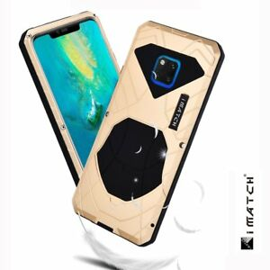 iMatch Metal Aluminium Armor Case For Huawei Mate 20 Pro X Shockproof Back Cover
