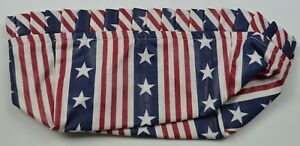 Longaberger Stand Up Basket Liner Patriot Collectible Acessory Home Decor Fabric $9.99