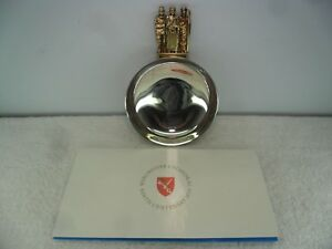 Winchester Cathedral 900th Anniversary Solid Silver Bowl London 1979